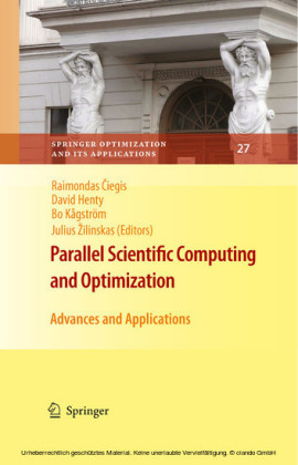 Parallel Scientific Computing and Optimization