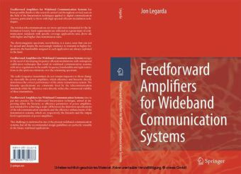 Feedforward Amplifiers for Wideband Communication Systems