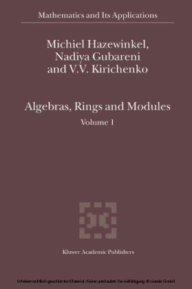 Algebras, Rings and Modules. Vol.1