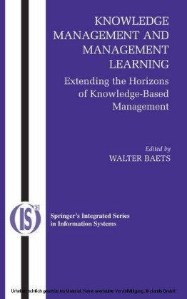Knowledge Management and Management Learning: