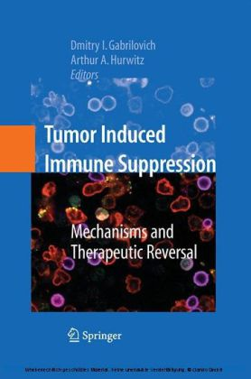 Tumor-Induced Immune Suppression