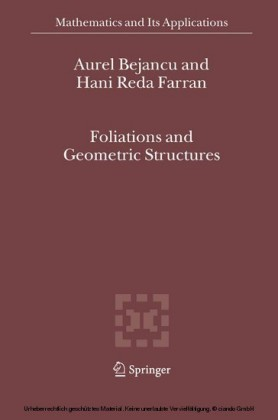 Foliations and Geometric Structures