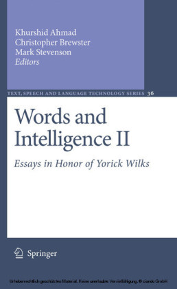 Words and Intelligence II. Vol.2