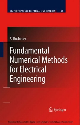 Fundamental Numerical Methods for Electrical Engineering