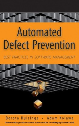 Automated Defect Prevention