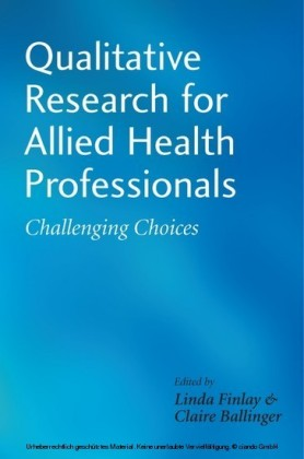 Qualitative Research for Allied Health Professionals,