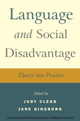 Language and Social Disadvantage,