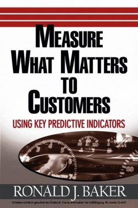 Measure What Matters to Customers