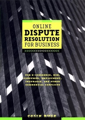 Online Dispute Resolution For Business