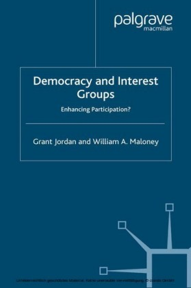 Democracy and Interest Groups