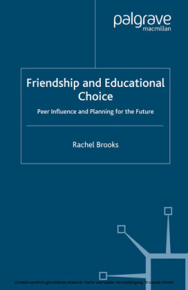 Friendship and Educational Choice