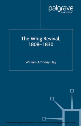 The Whig Revival, 1808-1830