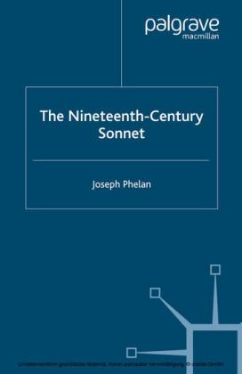 The Nineteenth-Century Sonnet