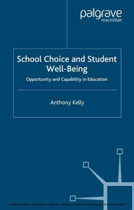 School Choice and Student Well-Being