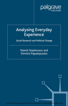 Analysing Everyday Experience