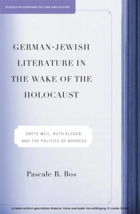 German-Jewish Literature in the Wake of the Holocaust
