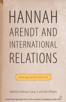 Hannah Arendt and International Relations