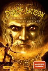 Percy Jackson, Die Schlacht um das Labyrinth Cover