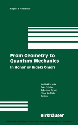 From Geometry to Quantum Mechanics