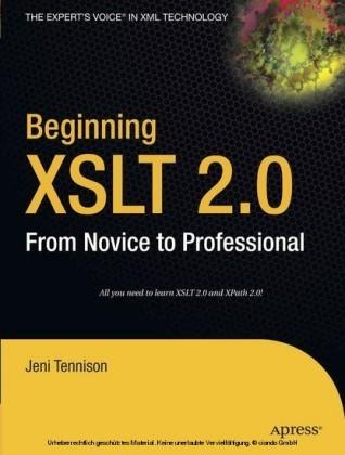 Beginning XSLT 2.0
