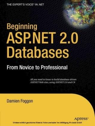 Beginning ASP.NET 2.0 Databases