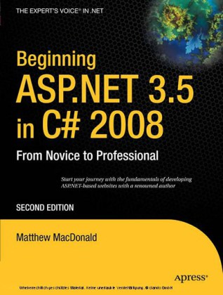Beginning ASP.NET 3.5 in C# 2008