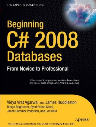 Beginning C# 2008 Databases