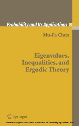 Eigenvalues, Inequalities, and Ergodic Theory