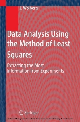 Data Analysis Using the Method of Least Squares