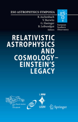 Relativistic Astrophysics and Cosmology - Einstein's Legacy