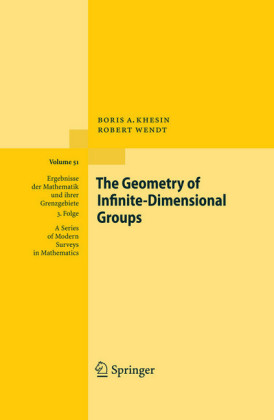 The Geometry of Infinite-Dimensional Groups