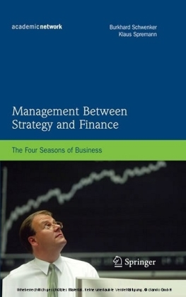 Management Between Strategy and Finance
