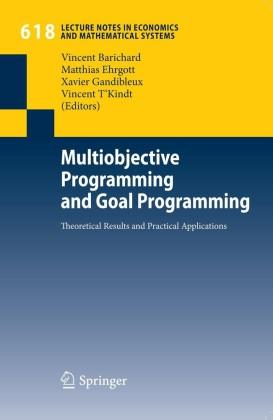 Multiobjective Programming and Goal Programming
