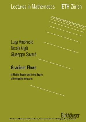 Gradient Flows