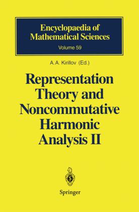 Representation Theory and Noncommutative Harmonic Analysis II