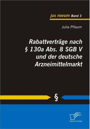 Rabattverträge nach 130a Abs. 8 SGB V und der deutsche Arzneimittelmarkt