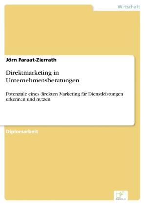 Direktmarketing in Unternehmensberatungen