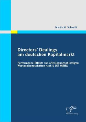 Directors Dealings am deutschen Kapitalmarkt