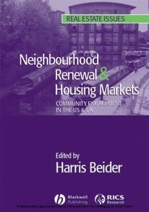 Neighbourhood Renewal and Housing Markets