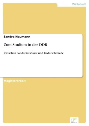 Zum Studium in der DDR