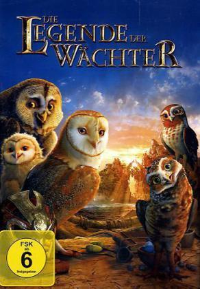 Die Legende der Wächter, 1 DVD