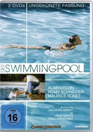 Der Swimmingpool, 2 DVDs