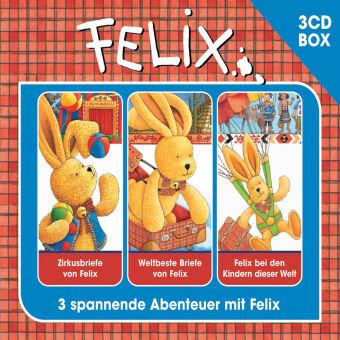 Felix Hörspielbox, 3 Audio-CDs