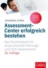 Assessment-Center erfolgreich bestehen Cover