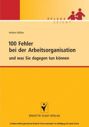 100 Fehler bei der Arbeitsorganisation