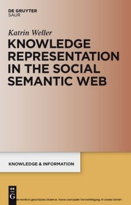 Knowledge Representation in the Social Semantic Web