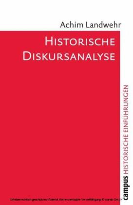 Historische Diskursanalyse