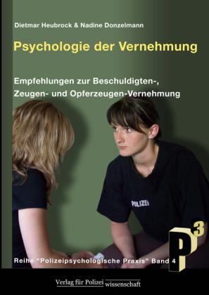 Psychologie der Vernehmung, m. 6 Einsatzkarten