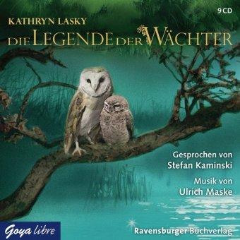 Die Legende der Wächter, Gesamtausgabe, 9 Audio-CDs
