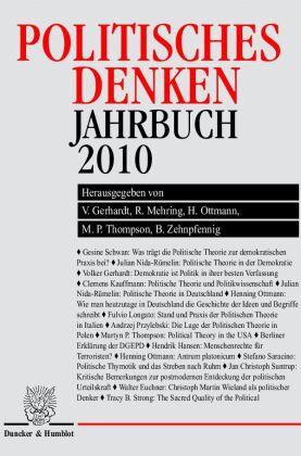 Politisches Denken, Jahrbuch 2010